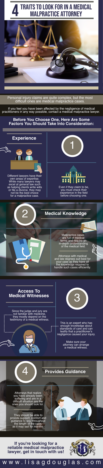 4 Traits To Look For In A Medical Malpractice Attorney