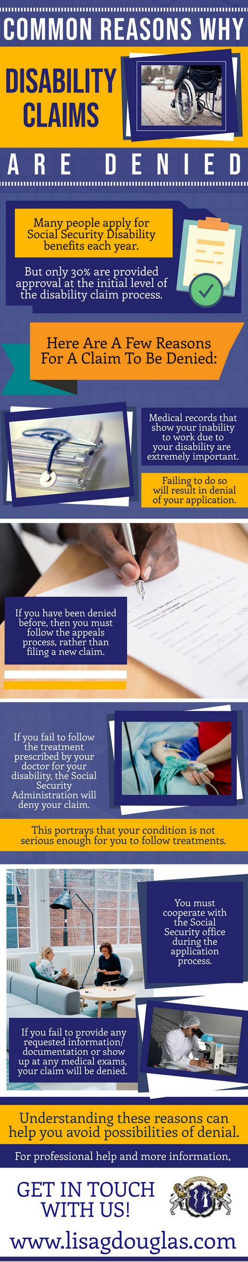 Common Reasons Why Disability Claims Are Denied