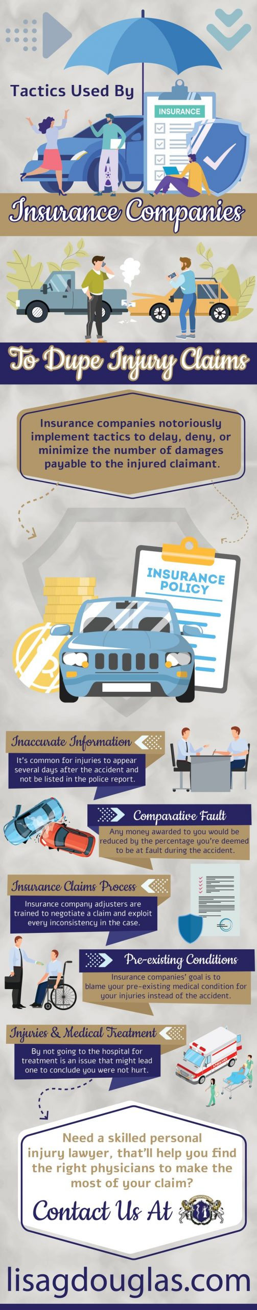 Tactics Used By Insurance Companies