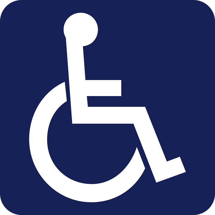 A sign of disability
