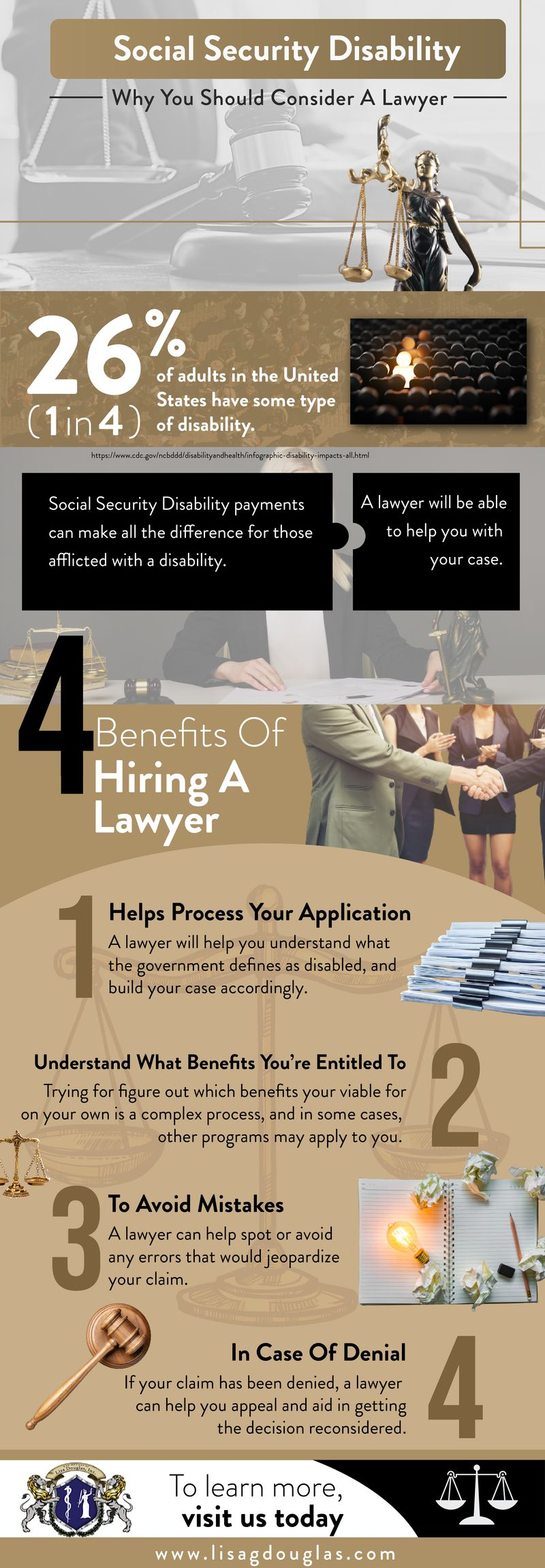 Social Security Disability Why You Should Consider A Lawyer